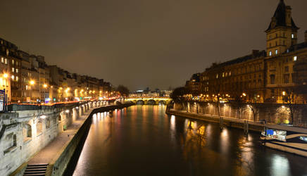 Long Exposure of the Seine by marschall196