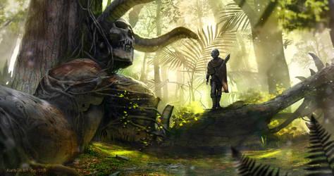 Giants' graveyard by AlwynT