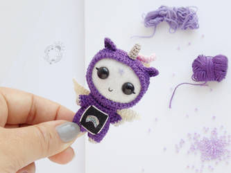 Purple Unicorn by theAmigurumer
