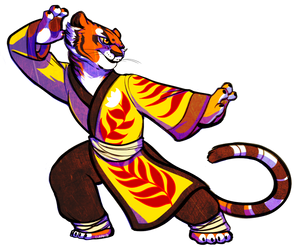 Master Tigress by ClaraCD