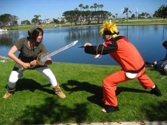 Green vs Naruto-SapphireWolf22 by Watashitachi-Cosplay