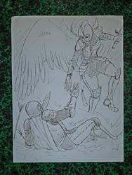 knight angel by chmartouf