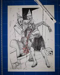Happy zombie new year by chmartouf