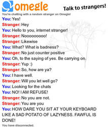 Fawful visits Omegle by The-Max765