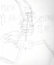 Skeleton Time by The-Max765