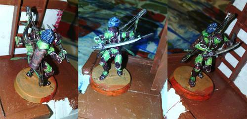 Ninja con arco tactico by EQdelaTorre