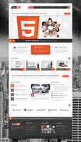 CleanBIZ  HTML5 Template version is out by pixel-industry
