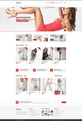 Thalassa Shop Home Page by pixel-industry