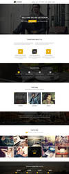 Arthenon - Creative One Page Portfolio by pixel-industry