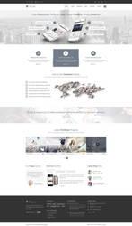 Elvyre Retina Ready Business WordPress Theme by pixel-industry