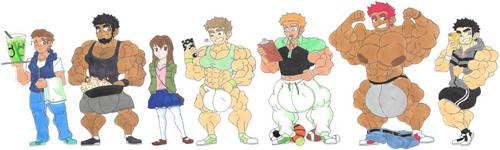 Other OC Heights by ryugaxryoga