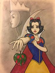 Sketchbook: Snow White by Dekamaster