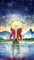Major Arcana: I The Magician by causalfault