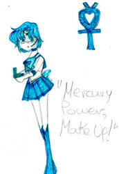 Sailor Mercury by ReAnimatedDoll