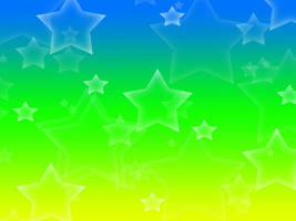 Yellow-Green-Blue Background by Magical-Mama