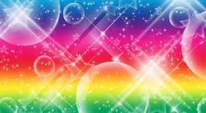 Rainbow SparkleStar Background by Magical-Mama