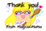 Thank you! From Magical-Mama Stamp by Magical-Mama