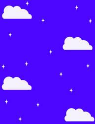 Simple Stary Sky  BG by Magical-Mama