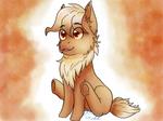 An Eevee Pony by 8BitGalaxy