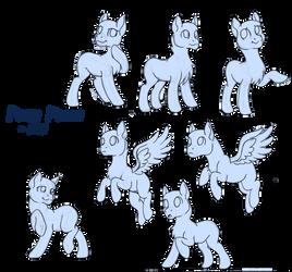 Pony Practice  by 8BitGalaxy
