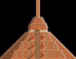 Echidna Pyramid No. 2 by skylights1