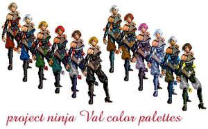 ninja Val project by Navetsea