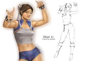 ChunLi W.I.P by Navetsea