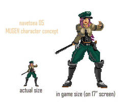 MUGEN character concept. by Navetsea