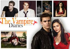 vampire diaries by lauraa-san