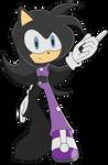 SR - Kuroi The Hedgehog by BloomPhantom