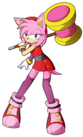Amy Rose -Sonic Boom- by BloomPhantom