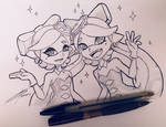Marie and Callie by BloomPhantom