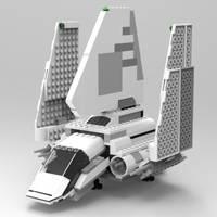 LEGO Imperial Shuttle by VanishingPointInc