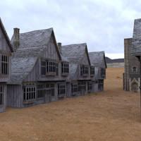 Low Polygon Medieval Buildings 1 by VanishingPointInc