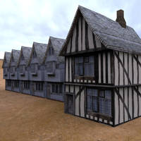 Low Polygon Medieval Buildings 2 by VanishingPointInc