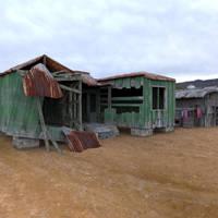 Shanty Town 1 by VanishingPointInc