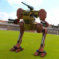 Hawksclaw in a Field by VanishingPointInc