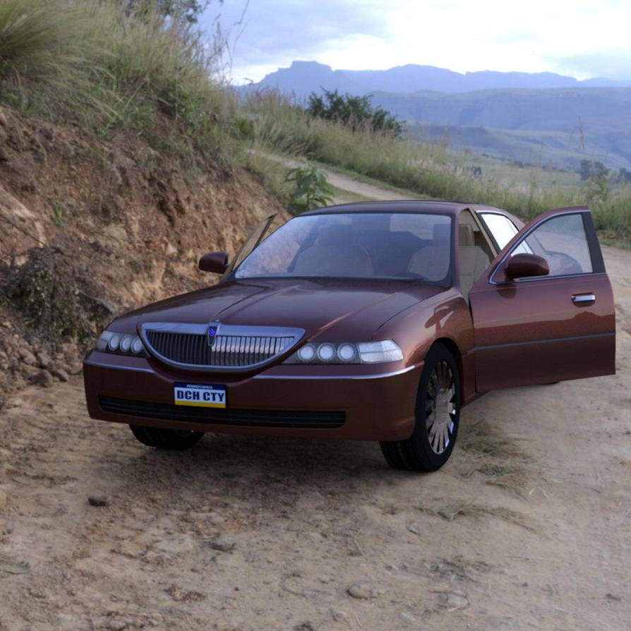 Luxury Sedan Car Parked by VanishingPointInc