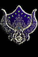 WARFRAME Lotus - Tribal Helmet by RazulDarkwood