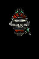 WARFRAME Kara Valkyr - Tribal Helmet by RazulDarkwood