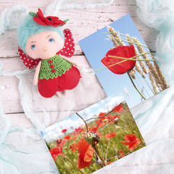 Red Poppy Fairy (for sale) by Dasha-Svetlaya