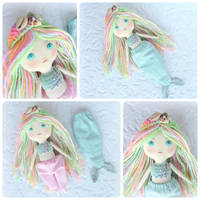 Pastel Mermaid Doll by Dasha-Svetlaya