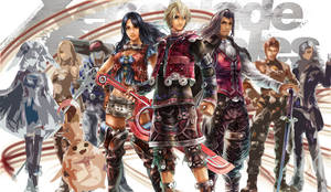 Xenoblade Team by Levot
