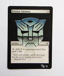 Autobot Pristine Talisman by troydodd
