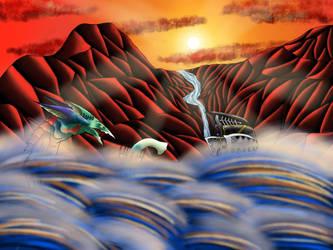 Wave Breaker by Icedragon300