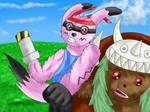 Digi-Fight by Icedragon300
