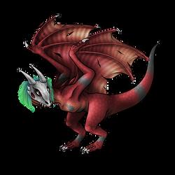 Wyvermon (Redraw) by Icedragon300