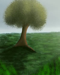 Tree in the Meadow by Icedragon300