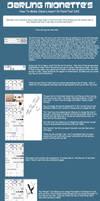 SAI Tutorial - Lineart by DarlingMionette