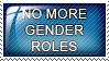 no more gender roles by Sierra-plz